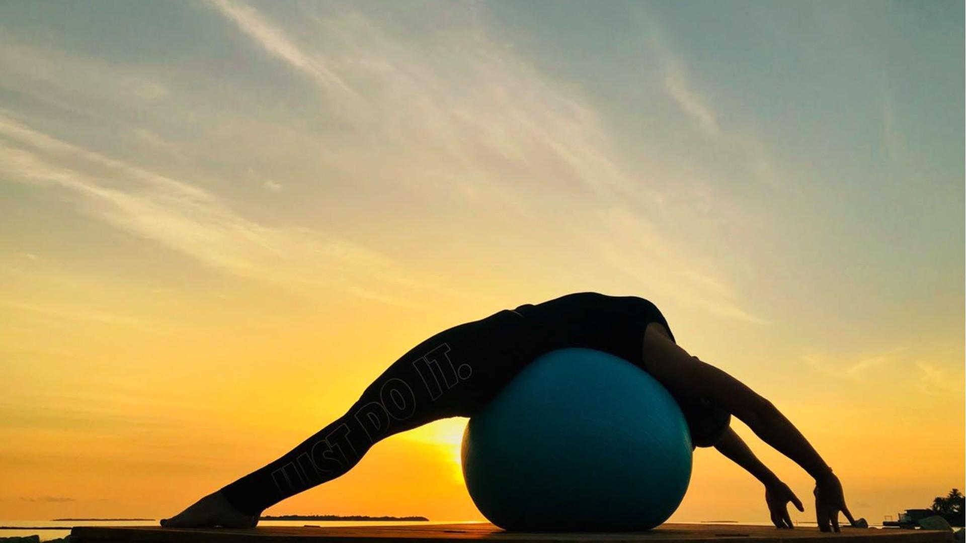 Fitnesss et Yoga au Spa Cheval Blanc St Barth Isle de France